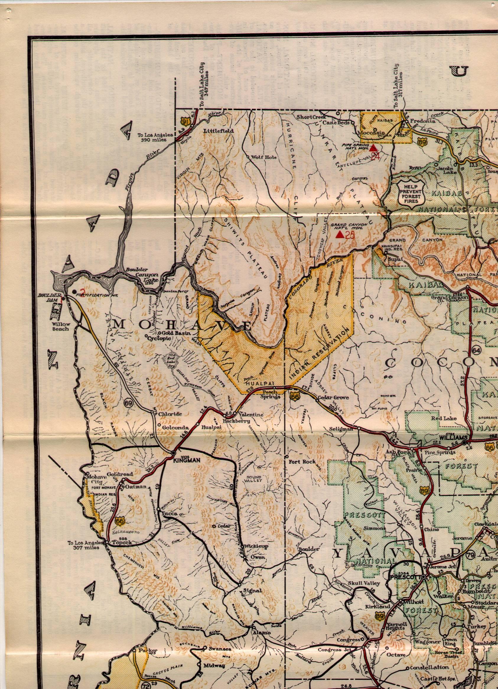 Arizona State Route 89A  Wikipedia The Free Encyclopedia