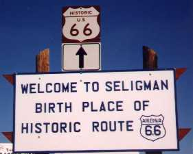 [Seligman -- Birthplace of US 66?]