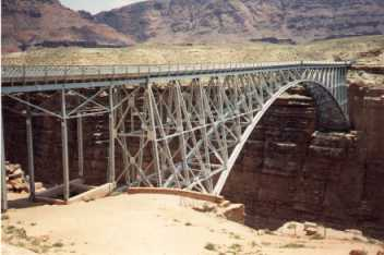 [Old Navajo Bridge]