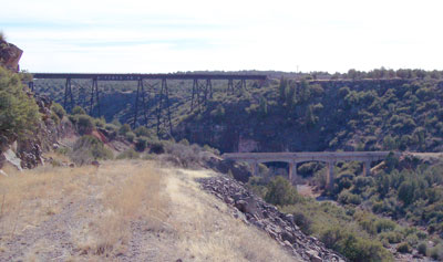 [Old Hell Canyon bridge]